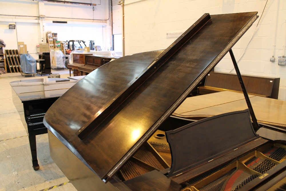 Steinway (c1921) A 191cm New York Model A grand piano in a mahogany case on square tapered legs. - Image 6 of 8