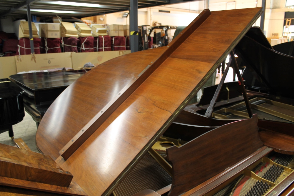 Steinway (c1904) A 5ft 10in Model O grand piano in a rosewood case on square tapered legs; - Image 6 of 9