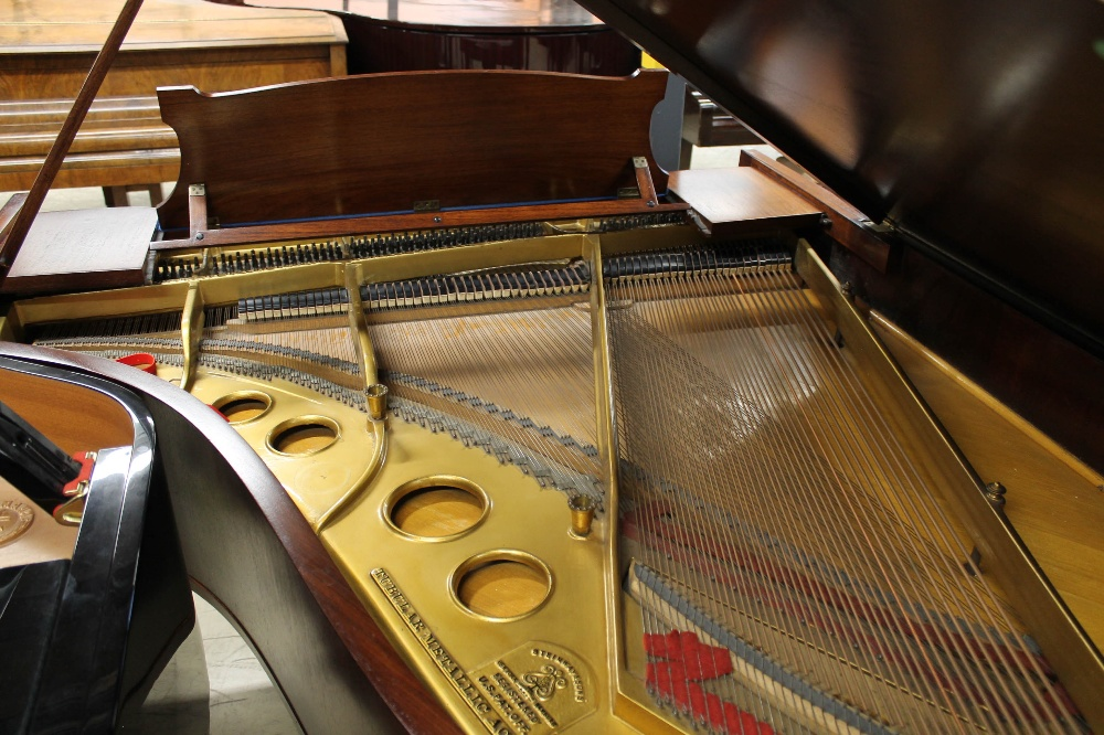 Steinway (c1926) An 88-note 5ft 10in Model O grand piano in a mahogany case on square tapered legs; - Image 8 of 8