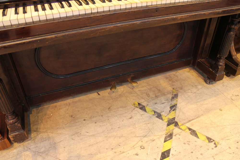 Steinway (c1902) A Style 1 upright piano in a rosewood case. - Image 3 of 4
