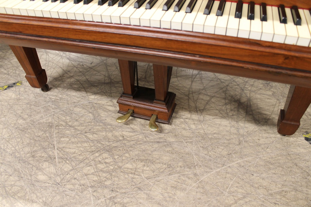 Steinway (c1904) A 5ft 10in Model O grand piano in a rosewood case on square tapered legs; - Image 3 of 9