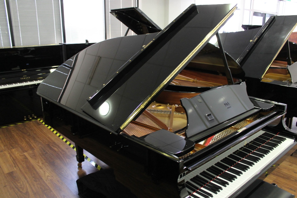 Steinway (c2015) A 6ft 11in Model B grand piano in a bright ebonised case on square tapered legs; - Image 6 of 8