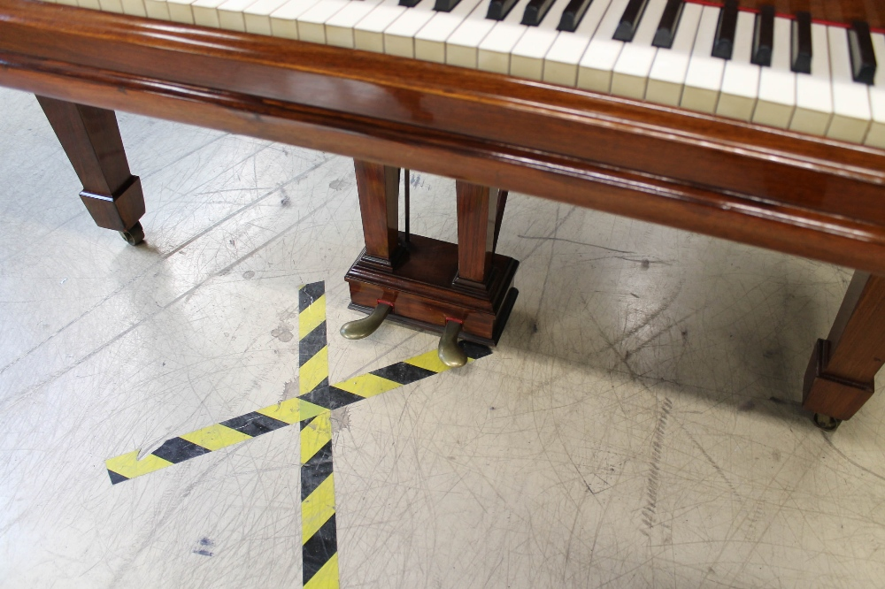 Steinway (c1908) A 5ft 10in Model O grand piano in a rosewood case on square tapered legs. - Image 3 of 8