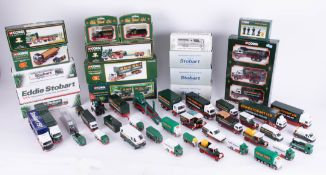 A collection of Eddie Stobart diecast models, mainly by Corgi, approximately 41 loose models, 16