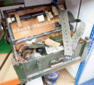 A Military Mine detector set in original box.