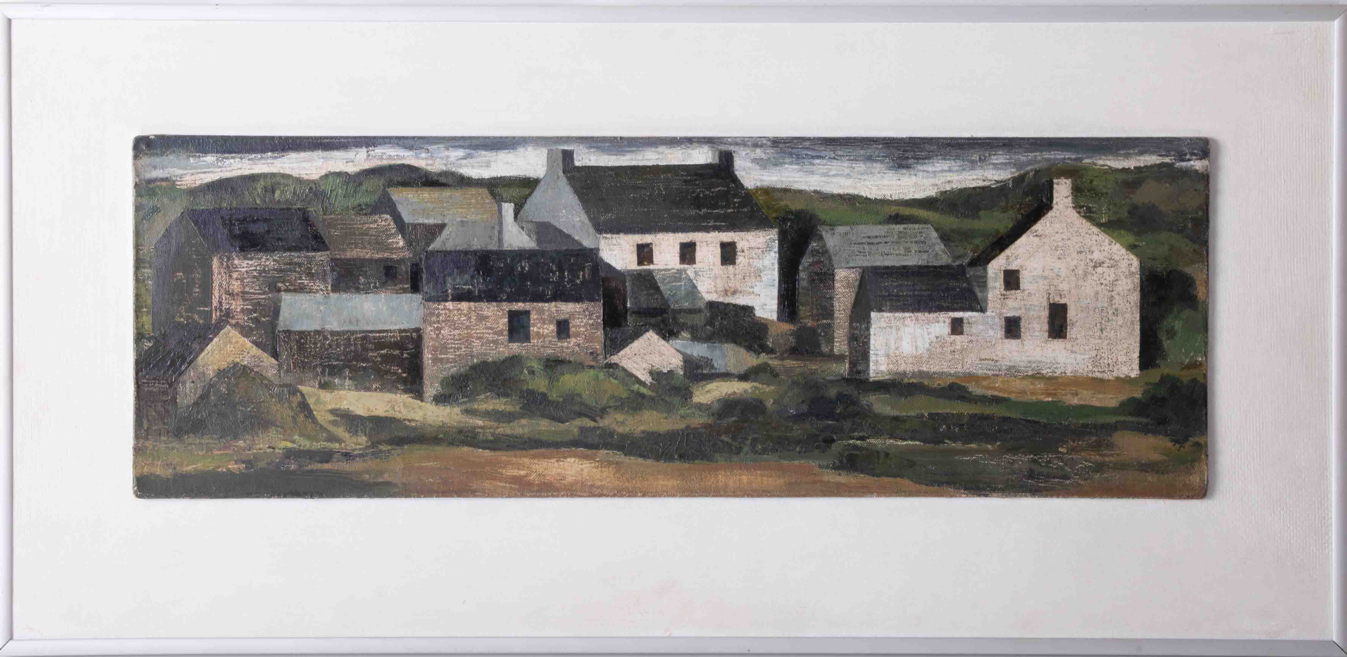 Alexander Mackenzie (1923-2002), oil on board, 'Bosulval', signed, titled and inscribed on