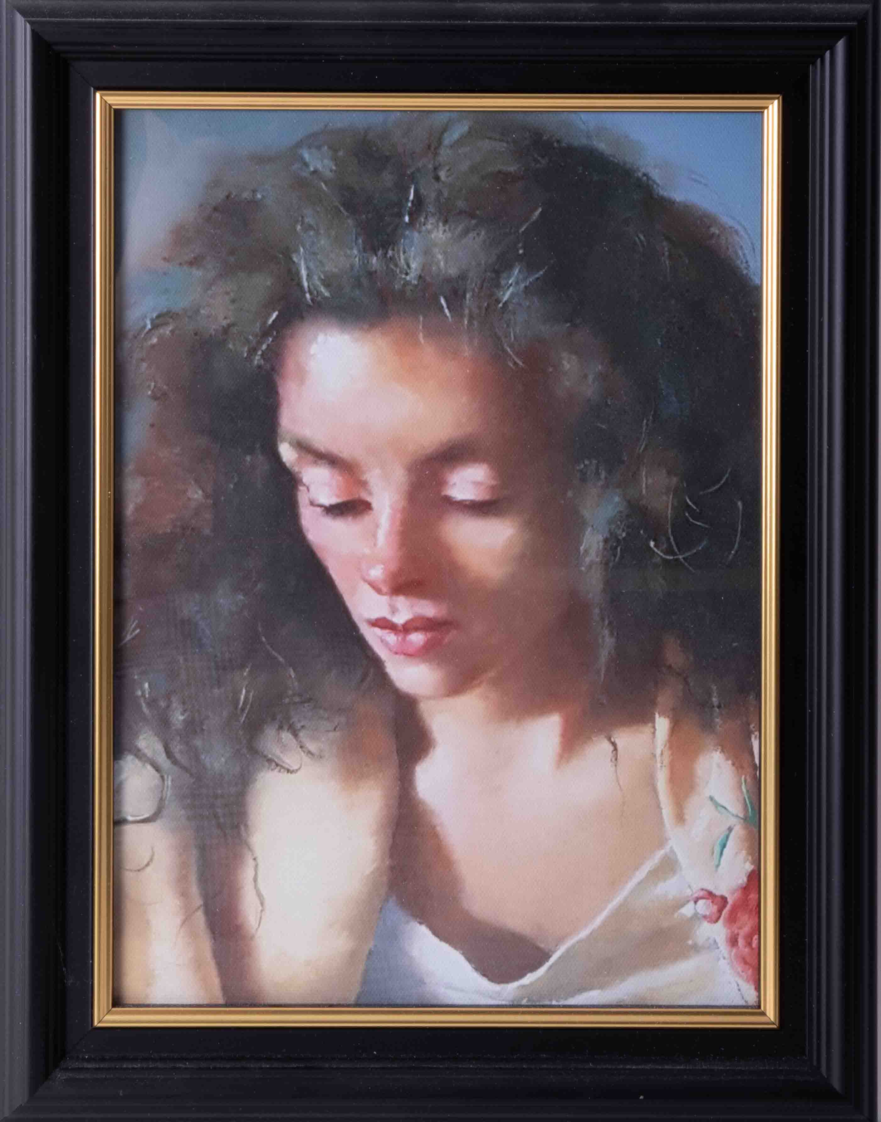 Robert Lenkiewicz (1941-2002) three open prints to include 'Bella With The Printer', all framed - Image 4 of 4