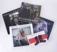 Robert Lenkiewicz (1941-2002) a collection of five books including Paintings and Projects,