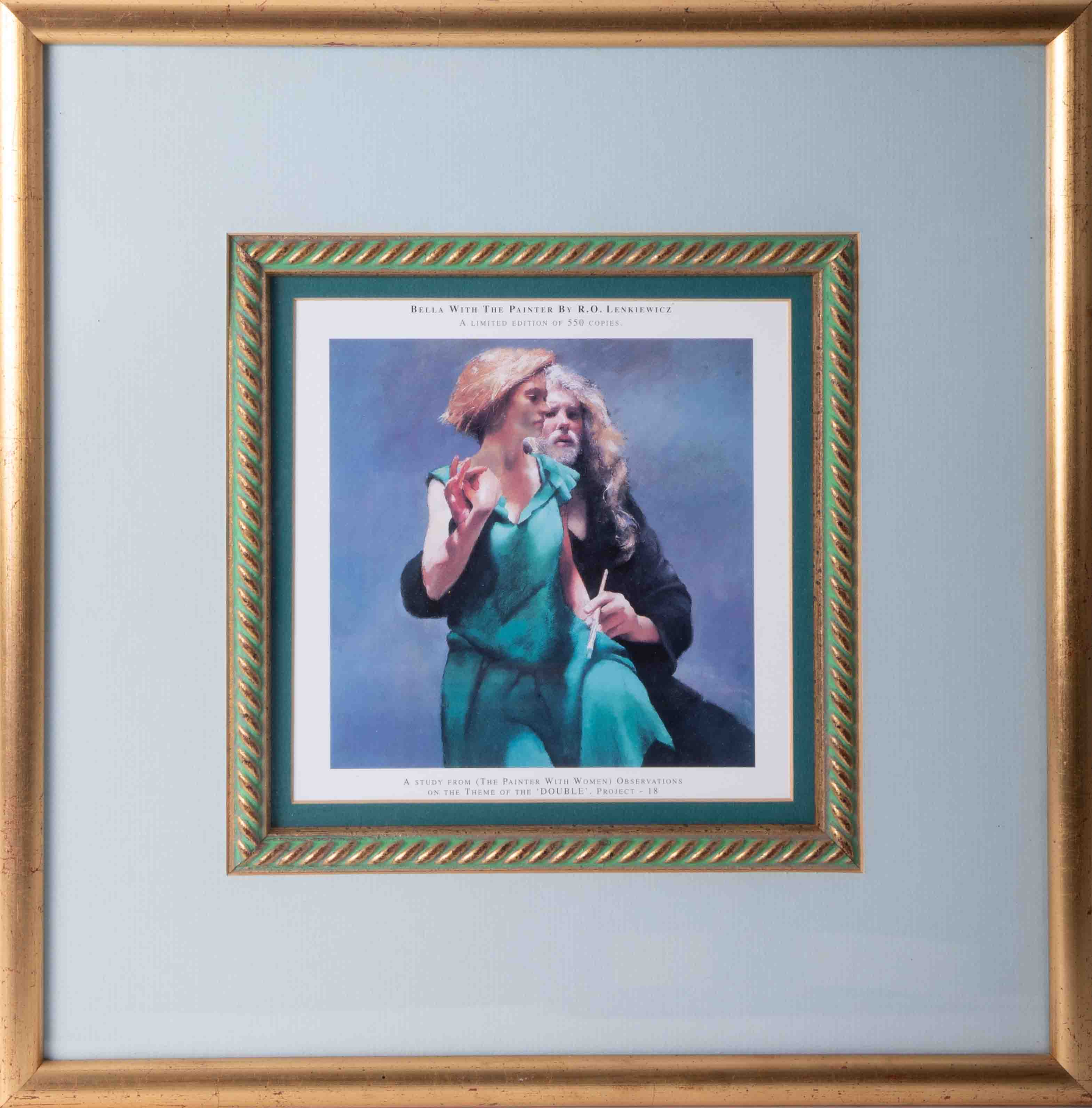 Robert Lenkiewicz (1941-2002) three open prints to include 'Bella With The Printer', all framed - Image 2 of 4
