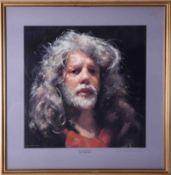 Robert Lenkiewicz (1941-2002) 'Self Portrait' signed limited edition print 300/450,