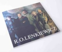 Robert Lenkiewicz (1941-2002) book published by White Lane Press, signed by the artist.
