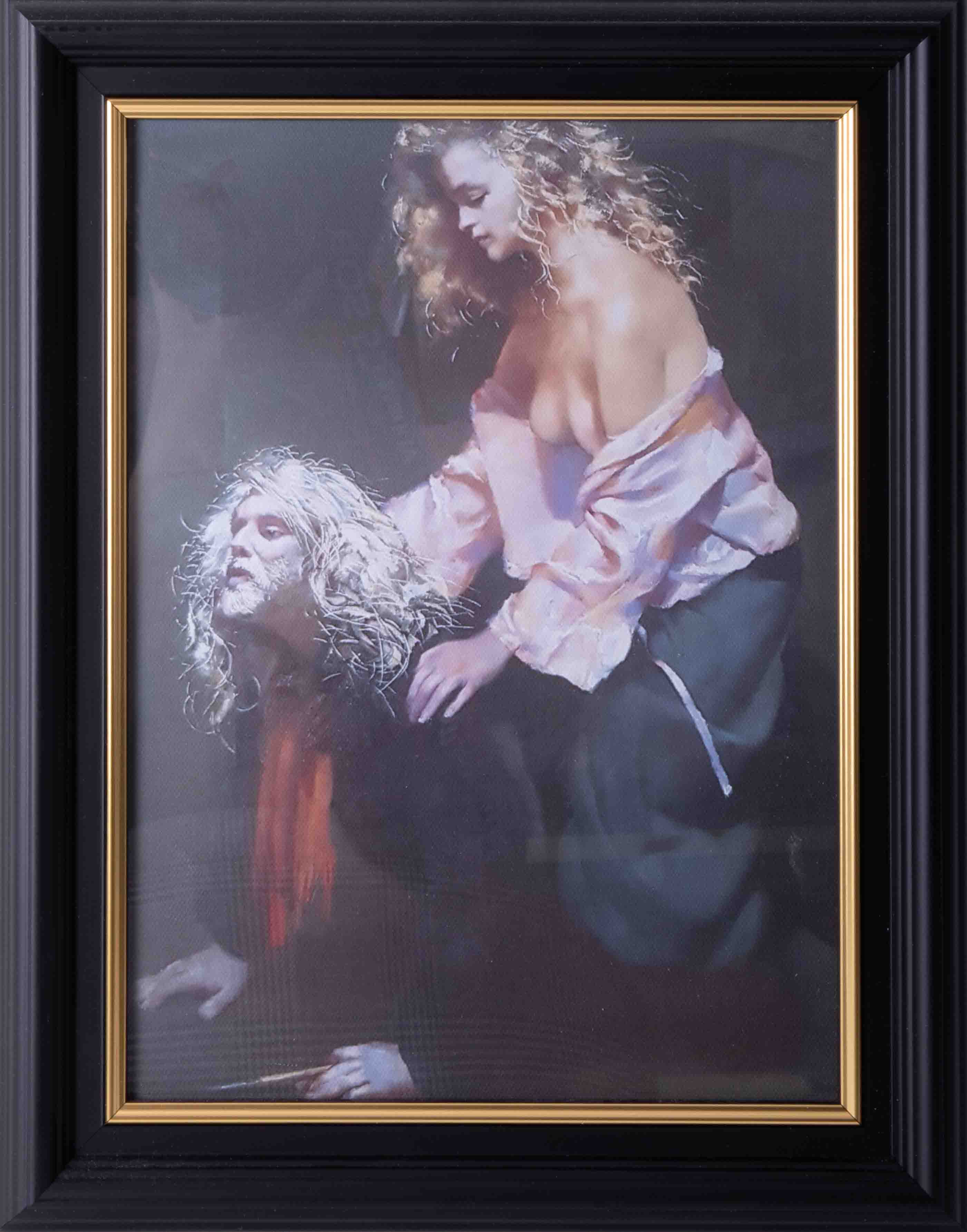 Robert Lenkiewicz (1941-2002) three open prints to include 'Bella With The Printer', all framed - Image 3 of 4