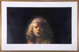 Robert Lenkiewicz (1941-2002) 'Self Portrait. Project 10', signed limited edition print