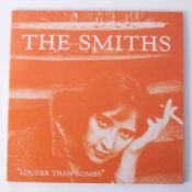 Vinyl LP The Smiths 'Louder Than Bombs' 1987, rare Canadian version, sire records, near mint