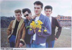 Poster - The Smiths 16/05/1983, very rare Manchester original poster 84cm x 59cm superb condition.