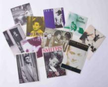 Eleven The Smiths 1985 - 1987 original postcard collection.