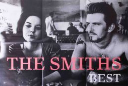Poster, rare The Smiths 'Best Of', 1993 original poster 89cm x 61cm, mint condition.