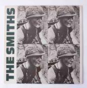 Vinyl LP The Smiths 'Meat Is Murder' 1985, rough 81, original pressing, near mint condition.
