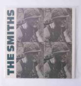 Vinyl LP The Smiths 'Meat Is Murder' 1985, pink vinyl rough 81, original pressing, mint condition.