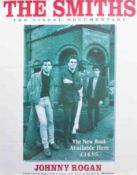 Poster - The Smiths The visual documentary by Johnny Rogan 1994 42cm x 53cm promo poster, Poster -