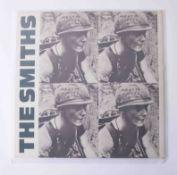Vinyl LP The Smiths 'Meat Is Murder' 1985 rough 81, original pressing, near mint condition.