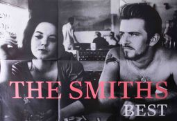 Poster, Original poster 'The Best Of The Smiths' 89cm x 61cm, excellent condition.
