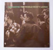 Vinyl LP The Smiths 'The World Wont Listen' 1986, rough 101, original pressing, near mint
