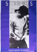 Poster - The Smiths 'How Soon Is Now' rare 1985 original promo poster 30cm x 60cm excellent