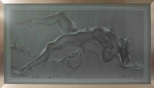 Anthony Brandt (1925-2009), 'Ecstasy' 2nd edition, No119 dated January 1961, 54cm x 100cm, framed