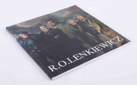 'Robert Lenkiewicz' single book published by White Lane Press in mint condition.