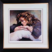 Robert Lenkiewicz (1941-2002) 'Study of Lisa' signed limited edition print 531/750, with certificate