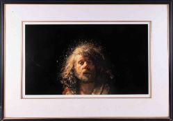 Robert Lenkiewicz (1941-2002) 'Self Portrait-Project 10' signed limited edition print 316/500,
