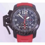 Graham, a gents Chronofighter oversize Superlight Carbon wristwatch, with watch passport purchased