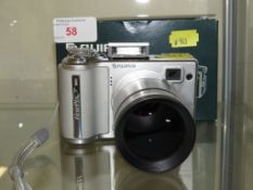 Fujifilm finepix E500 digital camera with tele conversion lens