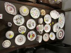 MINTON HADDON HALL PIN DISH AND OTHER DECORATIVE CHINA , DISHES AND TRINKET BOXES.