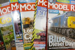 A very large collection of Hornby, Modeller & Model Rail magazines: 7 boxes, hundreds of issues.