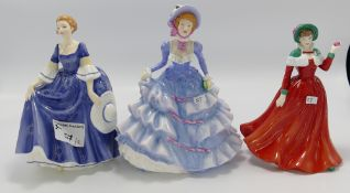Royal Doulton lady figures: Hannah,