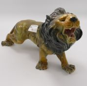 Large Continental Figure of Lion: marked SV to base,