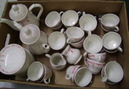 Churchill Vanity Fayre tea ware items: 24 cups, 24 saucers and 24 side plates etc.