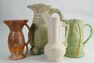 A collection of Beswick Ware Art Deco style jugs: