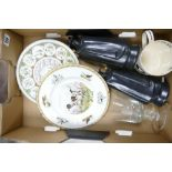 A mixed collection of Wedgwood Items to include: Sandeman's Port Figures, Limited Edition Sporting
