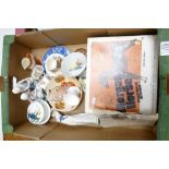 A mixed collection of items to include: boxed Breyer Morgan Horse figure, Swinnertons coffee