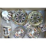 Earlier Derby and similar pieces with crown or no mark at all: Good used condition (7)