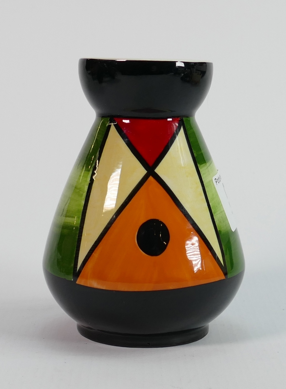 Lorna Bailey limited edition vase 2/2: 12cm high.