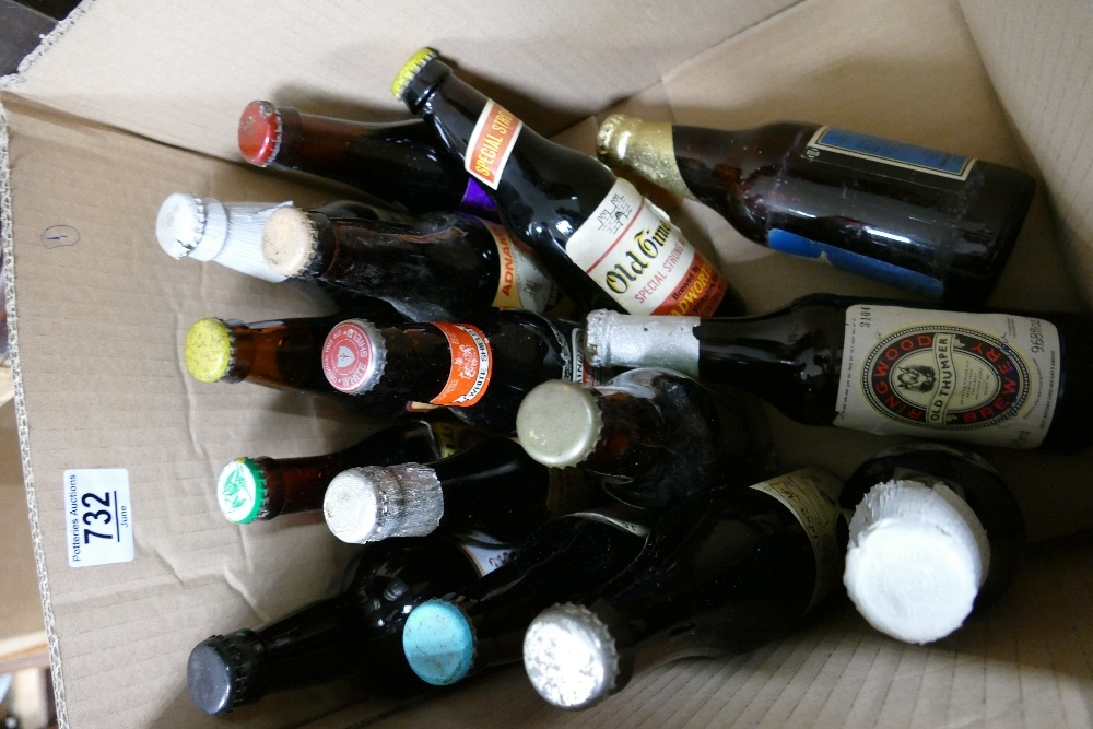 A collection of collectible beers from classic breweries to include: Titanic, Palmer, Adnams, St