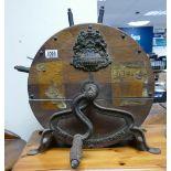 Victorian Circular Drum Knife Cleaner by George Kent: diameter 40cm