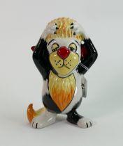 Lorna Bailey large lion figure 21 cm high: