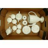 Wedgwood Amherst 15 piece coffee set: including coffee pot