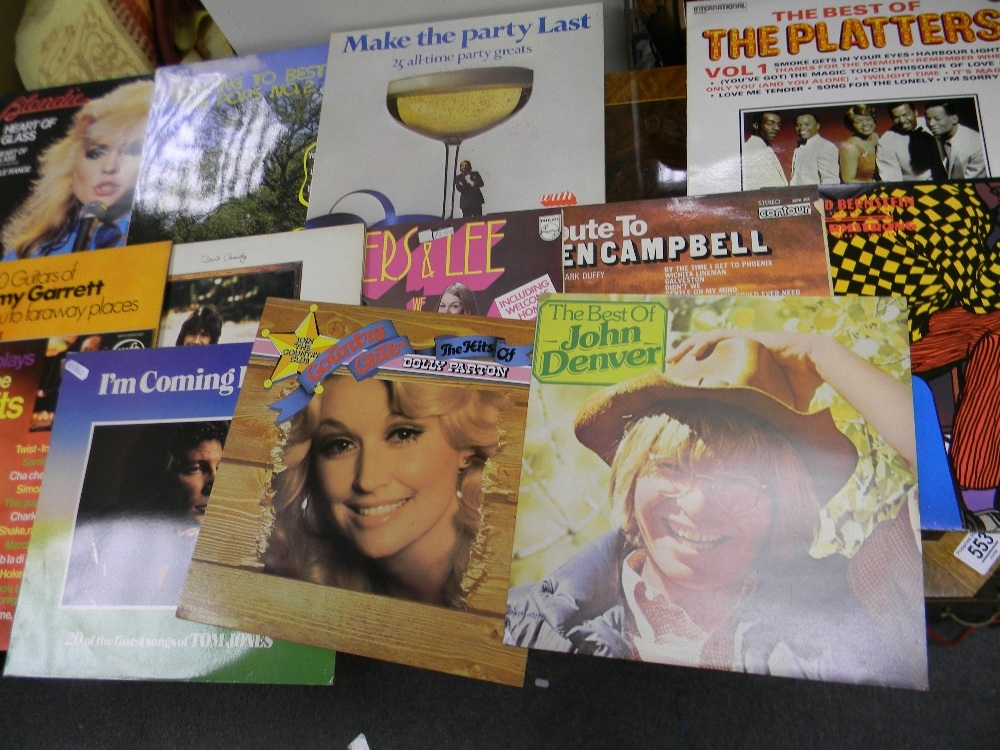 A large collection of Lp's Record to include: John Denver, Blondie, Davis Cassidy, Abba etc - Image 2 of 2