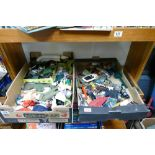 A large collection of vintage Palitoy Action Man items to include: models, guns, accessories,